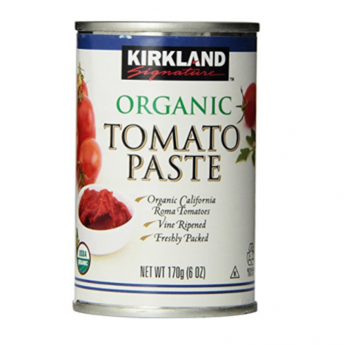 kirkland organic tomato paste 6oz