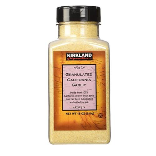 Kirkland Signature Granulated Garlic, 18 oz
