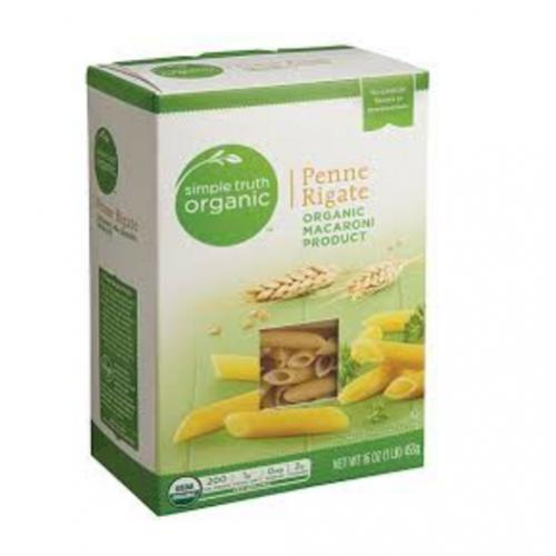 Simple Truth® Organic Penne Rigata - Organic Macaroni -- 453g