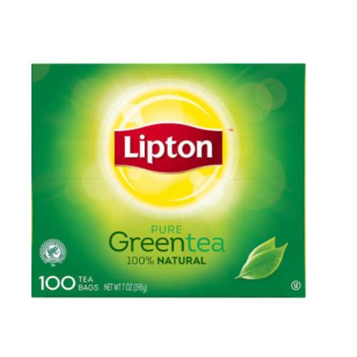 Lipton 100% Natural Hot Tea, Green Blend, 100 ct