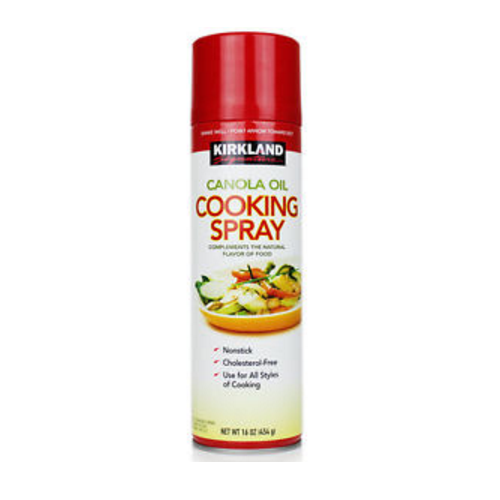 Kirkland Signature Canola Oil Cooking Spray, 17 oz