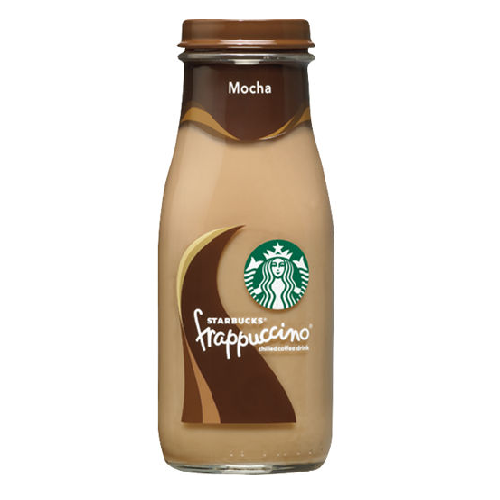 Starbucks Frappuccino Coffee Drink, Mocha, 281 ml