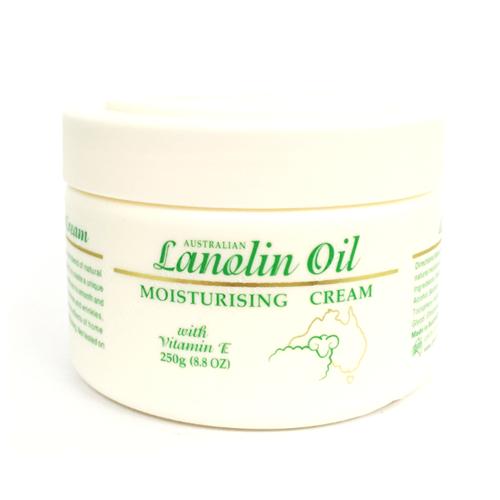Australian G Amp M Lanolin Oil Moisturising Cream 250g